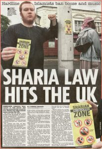 Shariah controlled zone in UK