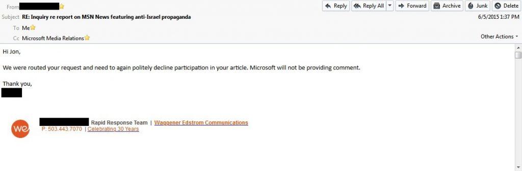 05June15 Final response from WEC raw screencap - name blocked