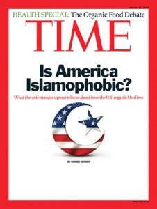 Time cover - Islamophobia
