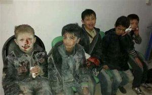 victims of barrel bombs