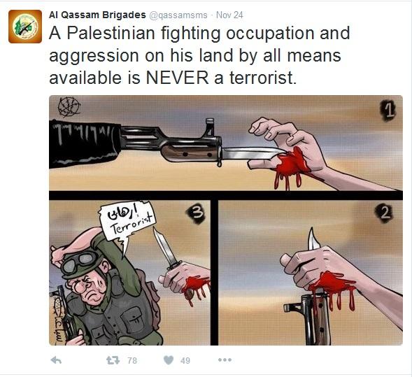 24Nov15 Intifada is not terrorism