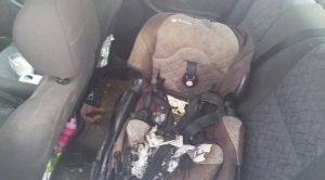 Firebomb car