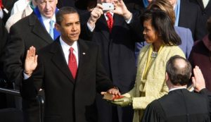 Obama oath of office
