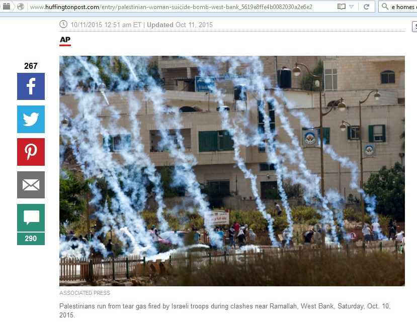 11Oct15 HP tear gas palestinians