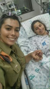 Cpl Dikla w Cpl Lehi who saved her