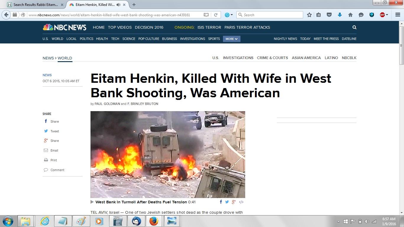 NBC News article on Henkins