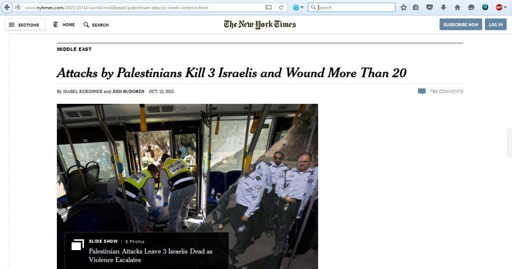 13Oct15 NYT numerous attacks
