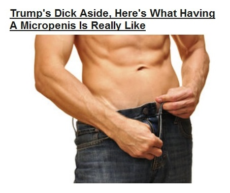 06Mar16 WHAT ITS LIKE TO HAVE MICROPENIS - day3 -callout