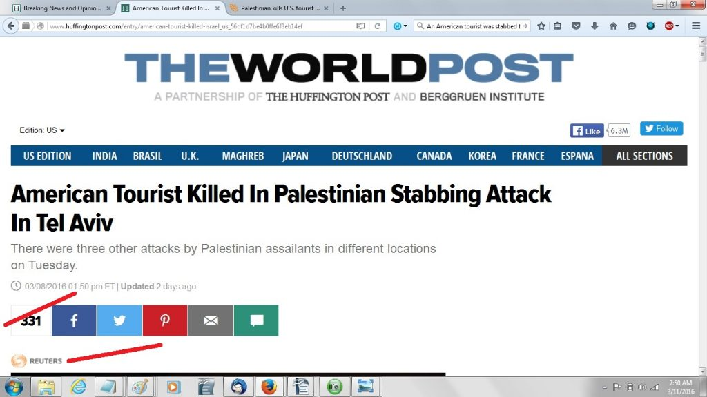 HuffPost version of Reuters story -callout 150p