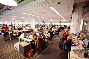 HuffPost news room Cosmopolitan